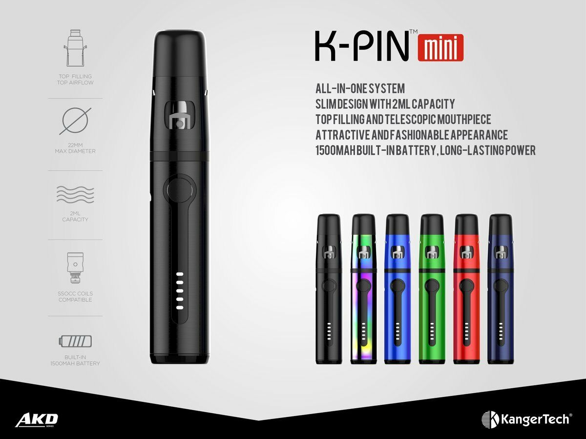 Kangertech K-PIN Mini Starter Kit 1500mAh