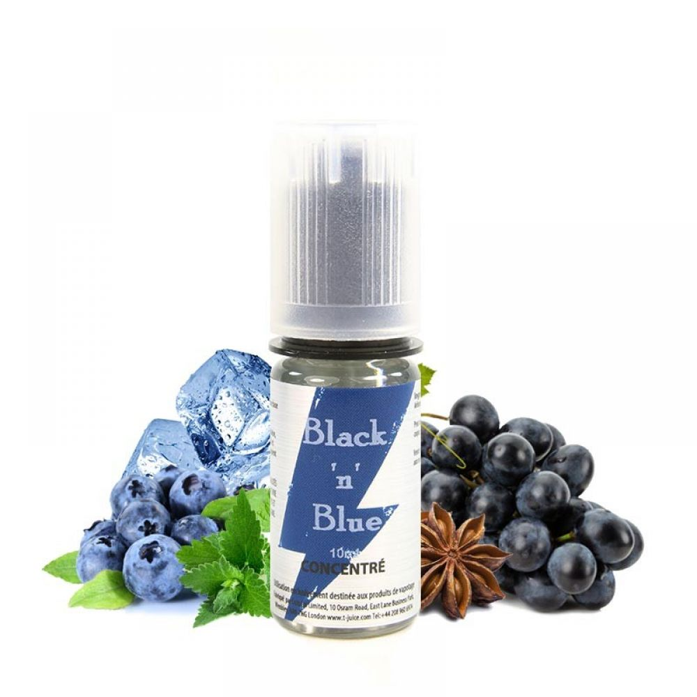 T-Juice Black n Blue Concentrate 10ml