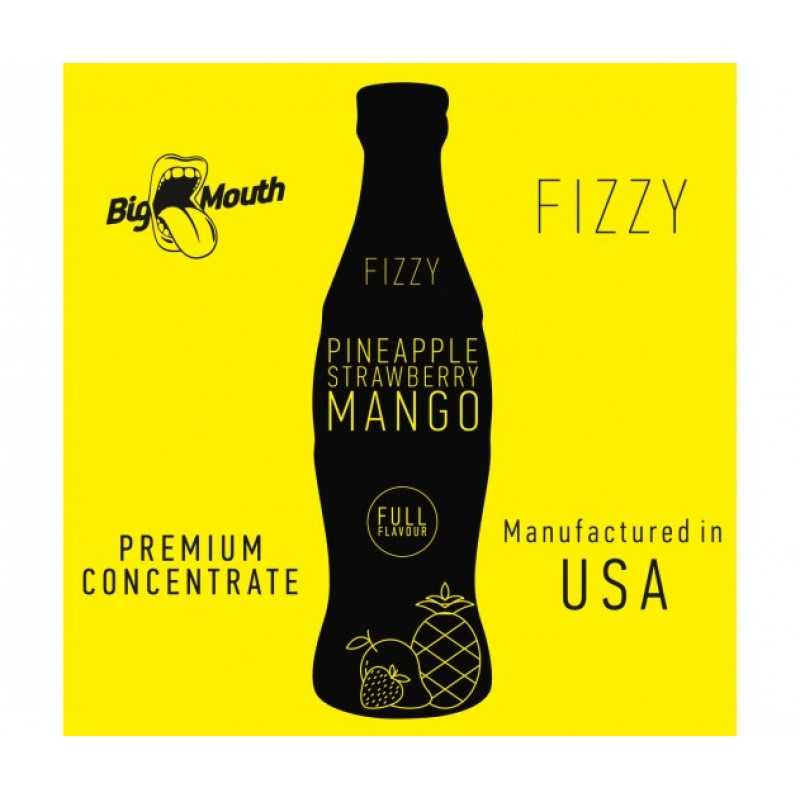 Big Mouth Fizzy Pineapple Strawberry Mango 10ml