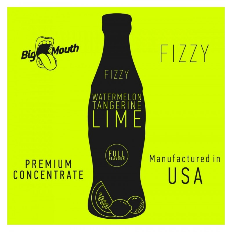 Big Mouth Fizzy Watermelon Tangerine Lime 10ml