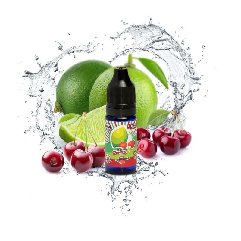 Big Mouth Retro Juice Lime Cherry
